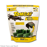 TOMCAT 8x1oz REFILLABLE MOUSE BAIT BAG - Palmer Farm and Ranch