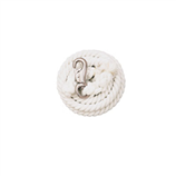 COTTON LEAD ROPE WHITE 10' - Palmer Farm and Ranch