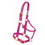"3/4"" ADJUSTABLE CHIN AND THROAT SNAP HALTER- SUCKLING - Palmer Farm and Ranch"