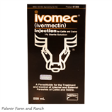 IVOMEC 1% INJECTABLE- CATTLE - Palmer Farm and Ranch