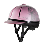 TROXEL LEGACY PINK ANTIQUUS HELMET - Palmer Farm and Ranch
