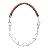 "LEATHER & CHAIN PRONG GOAT COLLAR 26"" - Palmer Farm and Ranch"