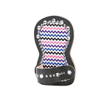 CHEVRON SHOW COMB HOLDER W/ CRYSTALS - Palmer Farm and Ranch