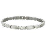 LADY EXECUTIVE SILVER GEM BRACELET, S - Palmer Farm and Ranch
