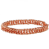 COPPER LINK CLAMSHELL, S/M BRACELET - Palmer Farm and Ranch