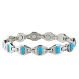 LADY BRIGHT STAINLESS TURQUOISE MAGNETIC - Palmer Farm and Ranch